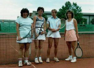 Chronik TCL 1. Damenmannschaft 1986