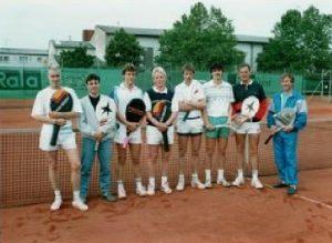 Chronik TCL 1. Herrenmannschaft 1986