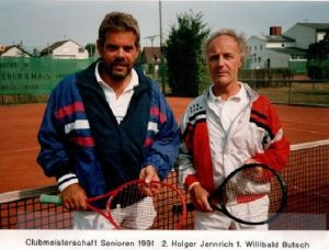Chronik TCL Clubmeisterschaft 1991 - Senioren