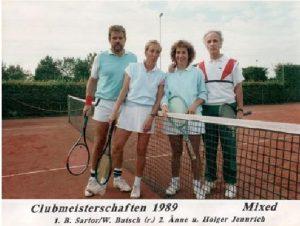 Chronik TCL Clubmeisterschaften 1989 - mixed