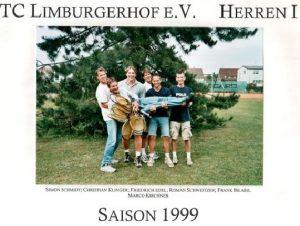 Chronik TCL 1. Herrenmannschaft 1999