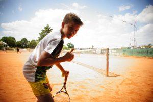 Spaß beim Tenniscamp