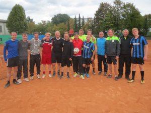 Fußballer der SG gewinnen Fußballtennis-Turnier