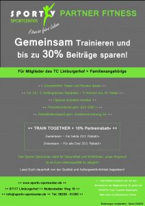 Partnerfitness TC Limburgerhof