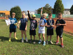 Jugend hat Spaß bei Clubmeisterschaften