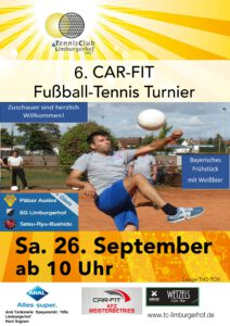 6. CAR-FIT Fußball-Tennis Turnier