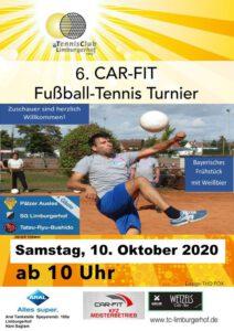 Fußballtennis-Turnier am 10. Oktober