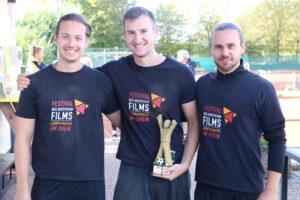 Team Filmfestival neuer Champion beim TCL CarFit Fußballtennis Turnier 2020