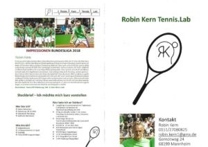 Robin Kern Tennis Lab
