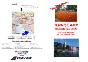 Tennis Camp Losinj Herbstferien 2021 - Mario Kusic
